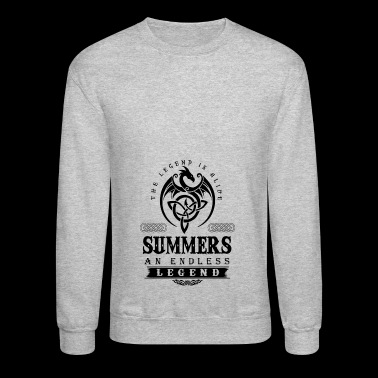 SUMMERS - Crewneck Sweatshirt