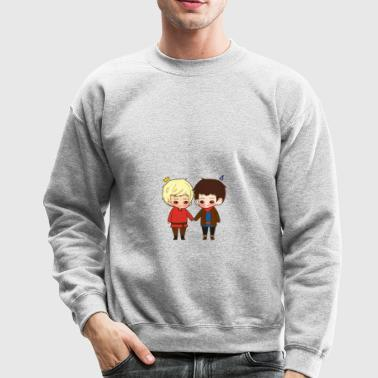 A King And His Sorcerer A Sorcerer And His King T - Crewneck Sweatshirt