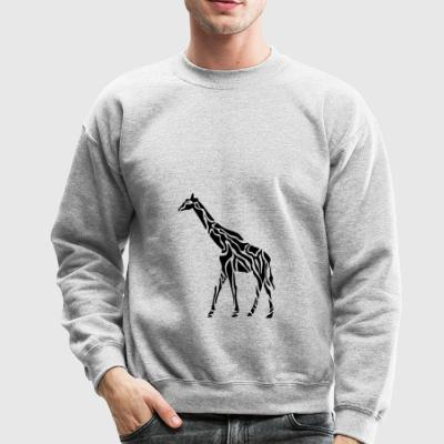 giraffe wildlife africa animal tiere - Crewneck Sweatshirt