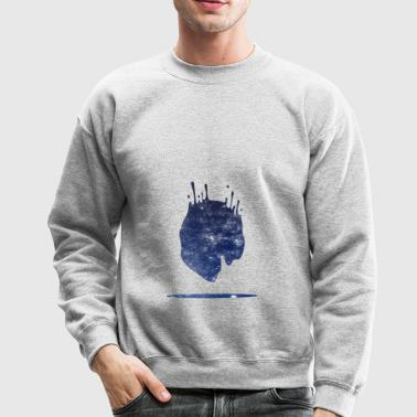 Space splash - Crewneck Sweatshirt