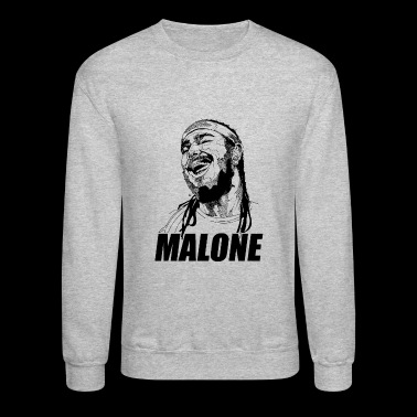 Cool laugh malone - Crewneck Sweatshirt