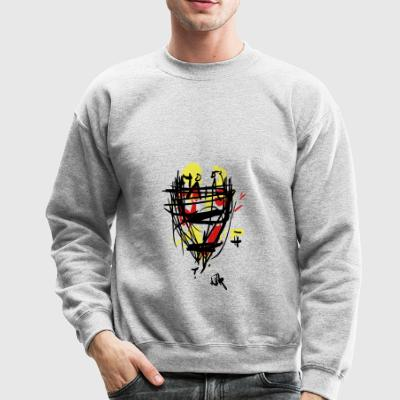 guards on the watchtower - Crewneck Sweatshirt