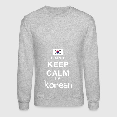 Keep calm Korean - Crewneck Sweatshirt