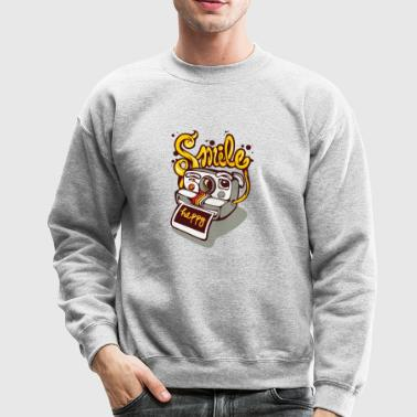 camera smile - Crewneck Sweatshirt
