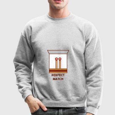 Perfect match - Crewneck Sweatshirt
