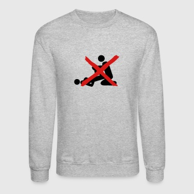 prohibits sex love 2 - Crewneck Sweatshirt