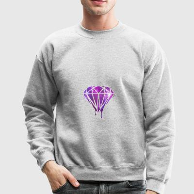 Bleeding Melting Dripping GALAXY Diamond - Crewneck Sweatshirt