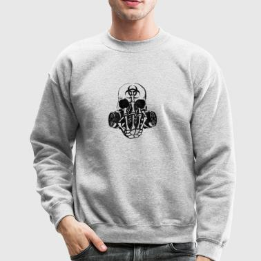 New Design Biohazard Skull Best Seller - Crewneck Sweatshirt