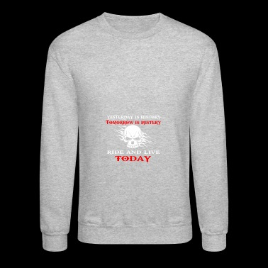 yesterday is history - Crewneck Sweatshirt