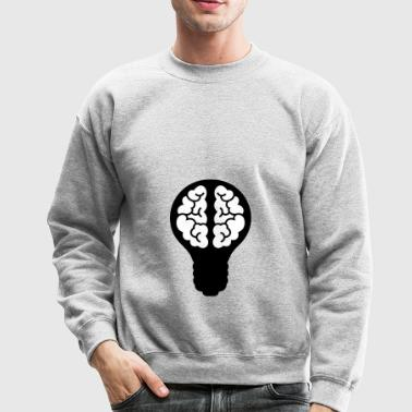light bulb - Crewneck Sweatshirt