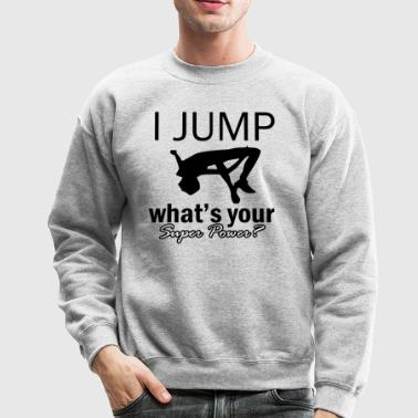high-jump design - Crewneck Sweatshirt