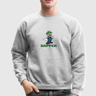 Luigi is Dapper - Crewneck Sweatshirt
