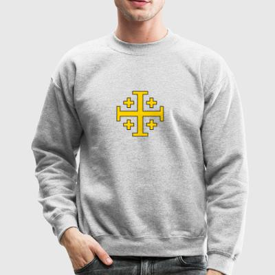 Jerusalem Cross - Crewneck Sweatshirt