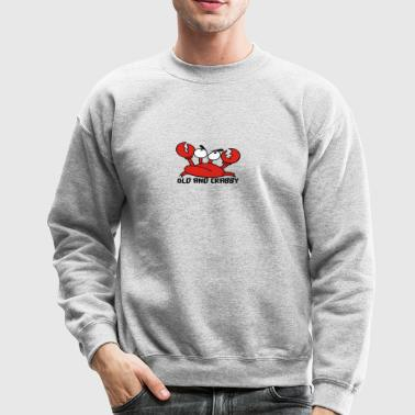 Old And Crabby - Crewneck Sweatshirt