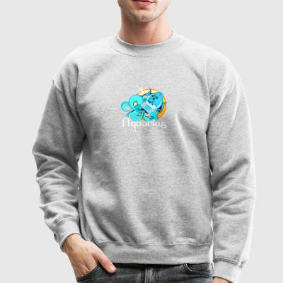 aquarius tee shirt - Crewneck Sweatshirt