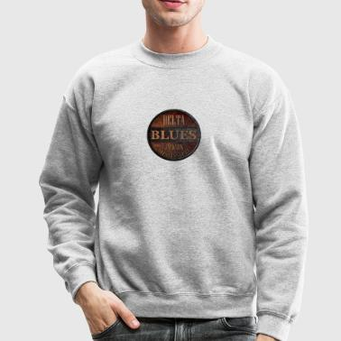 rusty delta blues jackson - Crewneck Sweatshirt
