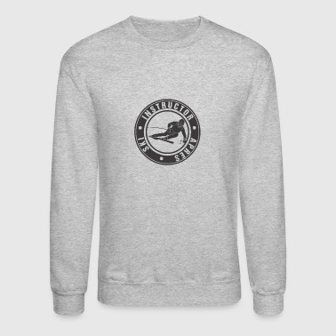 Ski Instructor (black) - Crewneck Sweatshirt