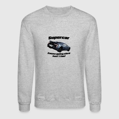 Supercar! - Crewneck Sweatshirt