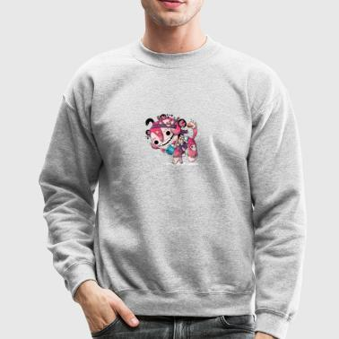 literature monkey - Crewneck Sweatshirt