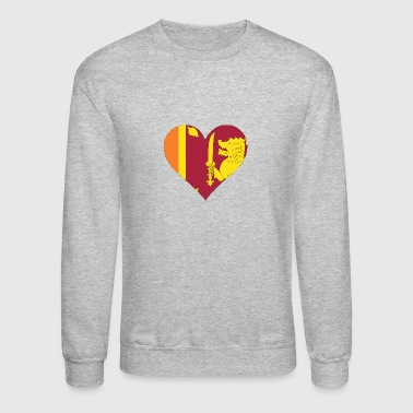 A Heart For Sri Lanka - Crewneck Sweatshirt