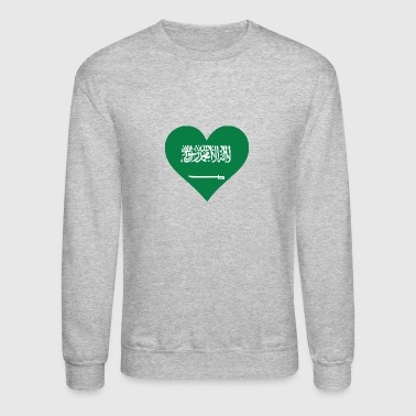 A Heart For Saudi Arabia - Crewneck Sweatshirt