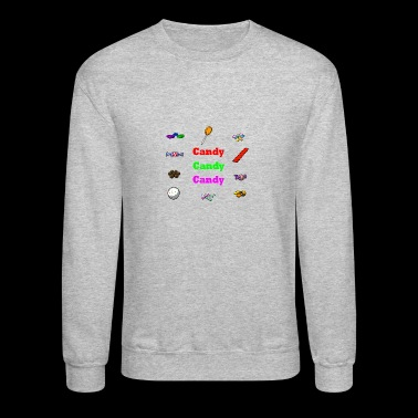 candy candy candy - Crewneck Sweatshirt