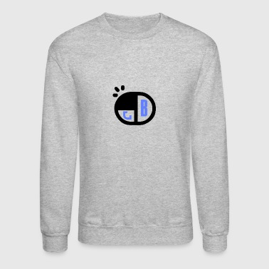 B Name Tag - Crewneck Sweatshirt