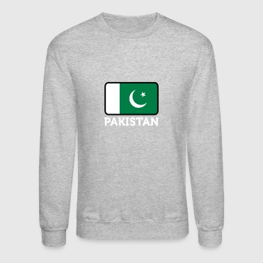 National Flag Of Pakistan - Crewneck Sweatshirt