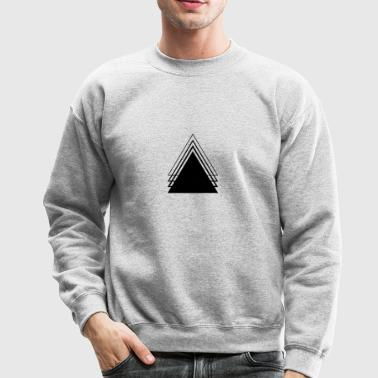 Triangle Geometry Design Minimalist - Crewneck Sweatshirt