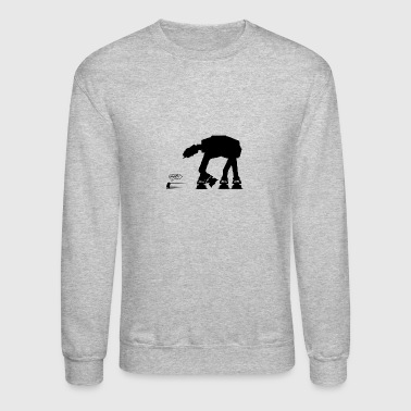 R2D2 vs AT-AT - Crewneck Sweatshirt