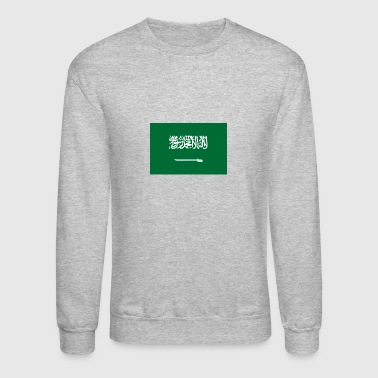 National Flag Of Saudi Arabia - Crewneck Sweatshirt