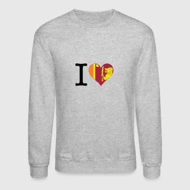 I Love Sri Lanka - Crewneck Sweatshirt