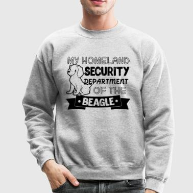 Security Department Of The Beagle Shirt - Crewneck Sweatshirt