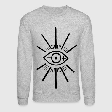 The big eye - Crewneck Sweatshirt
