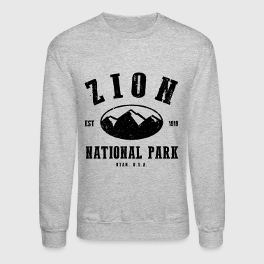 Zion National Park - Crewneck Sweatshirt