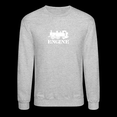 Engine Driver Steam Train - Crewneck Sweatshirt