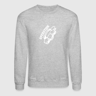 operation streetfight Hools Hooligan Boxen Fight - Crewneck Sweatshirt