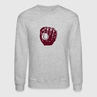 baseball glove ball 1303 - Crewneck Sweatshirt