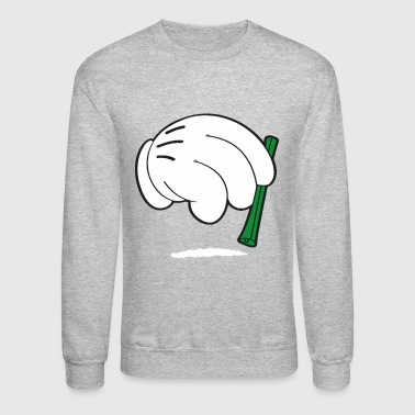 cocaine hands - Crewneck Sweatshirt