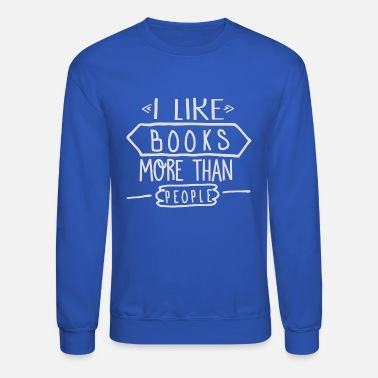 Books Book - Unisex Crewneck Sweatshirt