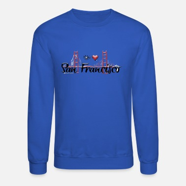San Eye Love San Francisco - Unisex Crewneck Sweatshirt