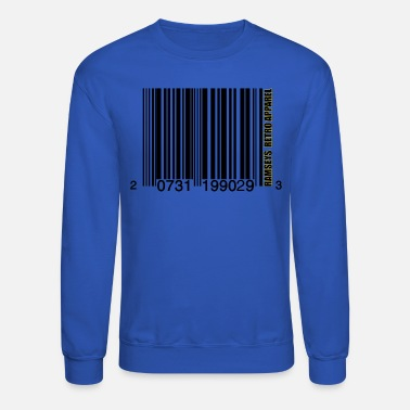 Ramseys Retro Apparel Ramseys Bar-Coding - Unisex Crewneck Sweatshirt