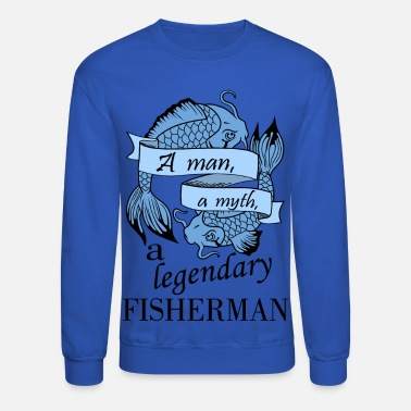 Fisherman Fisherman - blue - Unisex Crewneck Sweatshirt