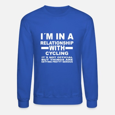 Cycling relationship with CYCLING - Unisex Crewneck Sweatshirt