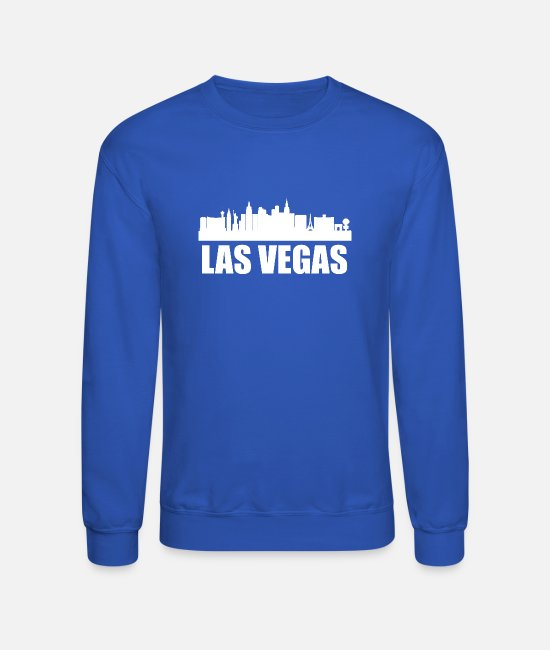 Vegas Strong Kids Unisex Cotton Long Sleeve Round Neck Pullover