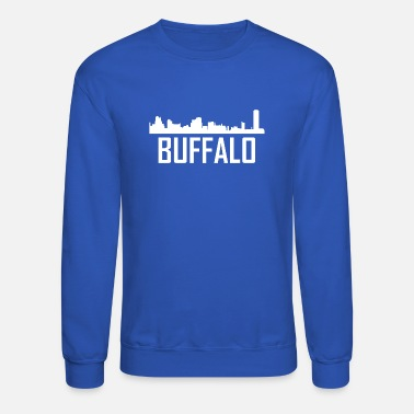 Buffalo Buffalo New York City Skyline - Crewneck Sweatshirt