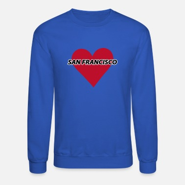 I Love San Francisco I love San Francisco - Unisex Crewneck Sweatshirt