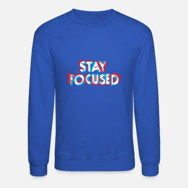 focused - Unisex Crewneck Sweatshirt