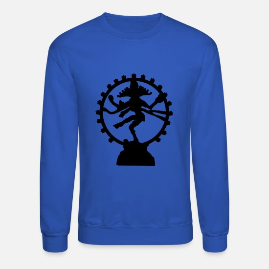 Shiva Hoodies & Sweatshirts - shiva - Unisex Crewneck Sweatshirt royal blue