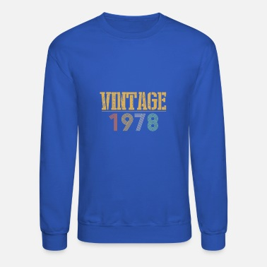 40th Birthday 40th Birthday Gift - Vintage 1978 - Unisex Crewneck Sweatshirt